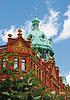 Historical brick building in Dublin | Stock Foto