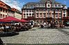 Photo 300 DPI: City Hall and market in Heidelberg