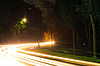Night traffic light | Stock Foto