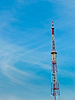 Antenna with blue sky | Stock Foto