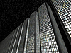 City at night: modern skyscrapers | Stock Foto