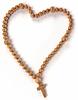 Chaplet or rosary beads heart shape | Stock Foto