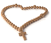 Love and Religion: chaplet or rosary beads | Stock Foto