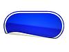 Фото 300 DPI: Синие наклейки округлые изогнутый или этикетку