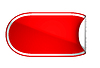 Фото 300 DPI: Красная наклейка округлые изогнутый или этикетку