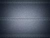 Dark Blue horizontal stitched leather background | Stock Illustration