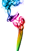 Colorful Abstract fume swirls | Stock Illustration
