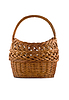 Beautiful woven basket for picnic | Stock Foto