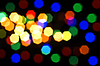 Blurred colorful lights | Stock Foto