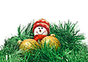 Christmas toy with colorful New Year decoration Balls | Stock Foto