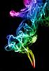 Фото 300 DPI: Градиент цвета дыма абстрактные