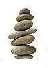 平衡石栈或塔 | 免版税照片