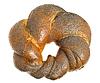 Tasty bagel with poppy seeds | Stock Foto