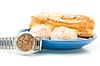 Break - Watch near plate | Stock Foto