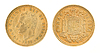 Foto 300 DPI: Una oder 1 Peseta - ehemalige spanische Geld