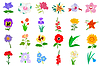 Vector clipart: Flowers