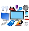 Vector clipart: set of modern electronics