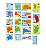 set of stamps with different countries