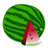 Vector clipart: watermelon