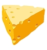Vector clipart: Piece of cheese
