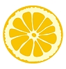 Vector clipart: cutting lemon