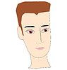 Vector clipart: face of guy