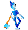 Vector clipart: Tin Woodman