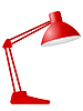 Vector clipart: desk lamp