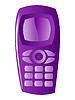Vector clipart: mobile phone