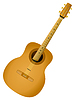 Vector clipart: acoustic guitar