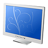 Vector clipart: LCD Computer Monitor