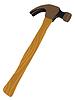 Vector clipart: Vintage hammer