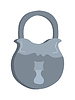 Vector clipart: Old lock