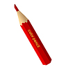 Vector clipart: red pencil