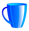 Vector clipart: tea cup