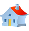 Vector clipart: little house
