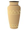 Vector clipart: vase