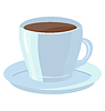 Vector clipart: Cup of coffee