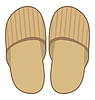 Vector clipart: Slippers