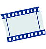 Vector clipart: frame of film