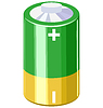 Vector clipart: battery