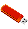 Vector clipart: Usb flash memory