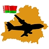 Vector clipart: fly me to Belarus