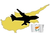 Vector clipart: fly me to Cyprus