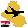Vector clipart: fly me to Iraq