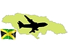 Vector clipart: fly me to Jamaica