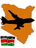 Vector clipart: fly me to Kenya