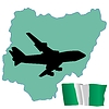 Vector clipart: fly me to Nigeria
