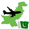 Vector clipart: fly me to Pakistan