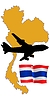 Vector clipart: fly me to Tailand